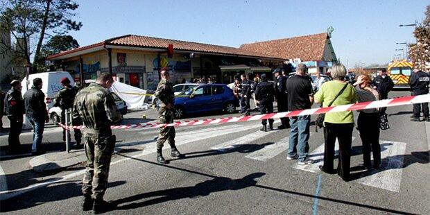 Unbekannter erschoss Soldaten in Frankreich