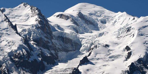 Sechs Bergsteiger am Mont Blanc gestorben