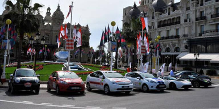 Tesla-Sieg bei Spezial-Rallye in Monte Carlo