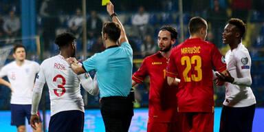 Montenegro nach Rassismus-Eklat ohne Fans