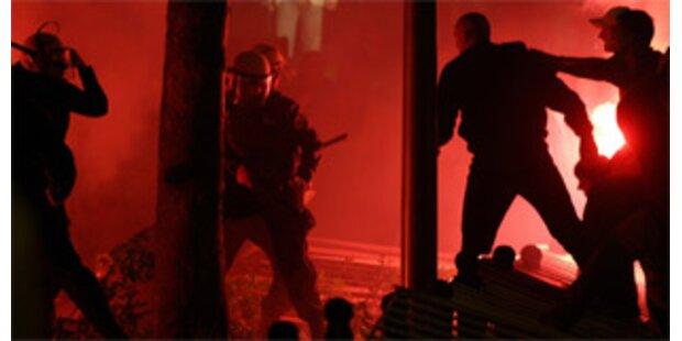 Straßenschlacht in Montenegro endet mit Verletzten