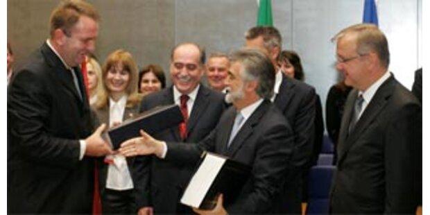 Montenegro unterzeichnet EU-Abkommen