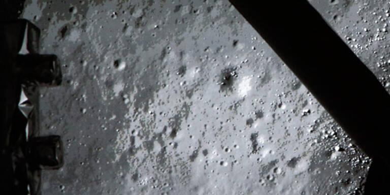 Chinas Raumschiff auf dem Mond gelandet