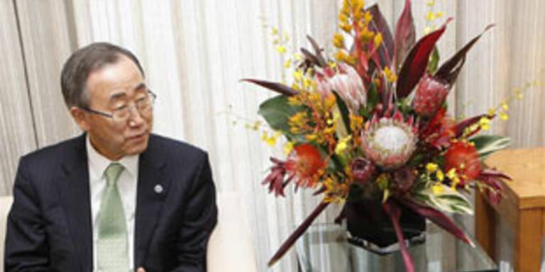 UNO-Chef eröffnete neues Konferenzgebäude
