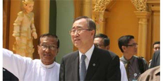 Militärjunta in Burma gibt grünes Licht für Hilfe