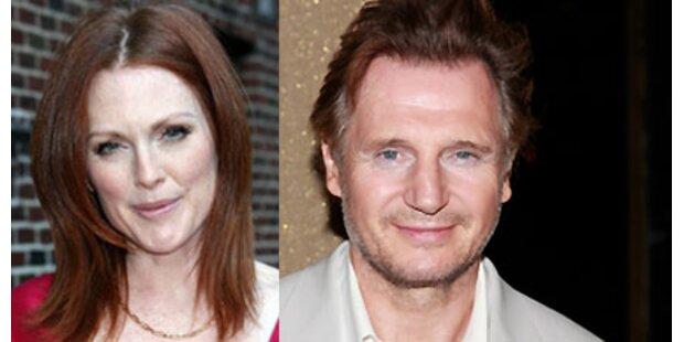 Liam Neeson, J. Moore eröffnen Festival