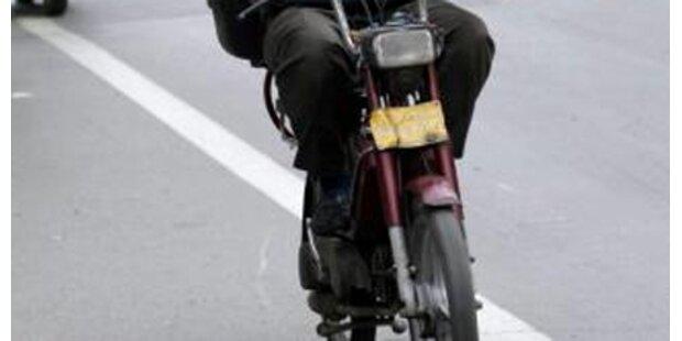 17-Jähriger frisierte Mofa auf 116 km/h