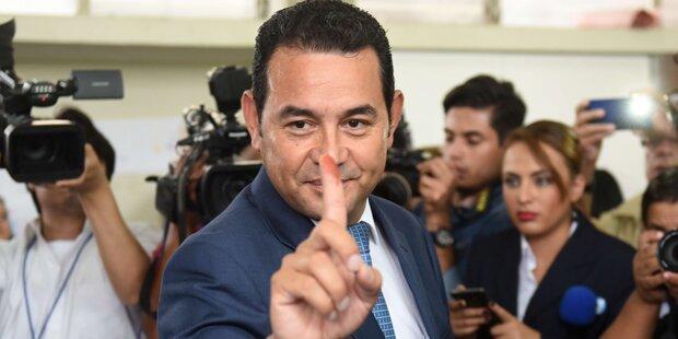 Komiker bei Wahlen in Guatemala voran