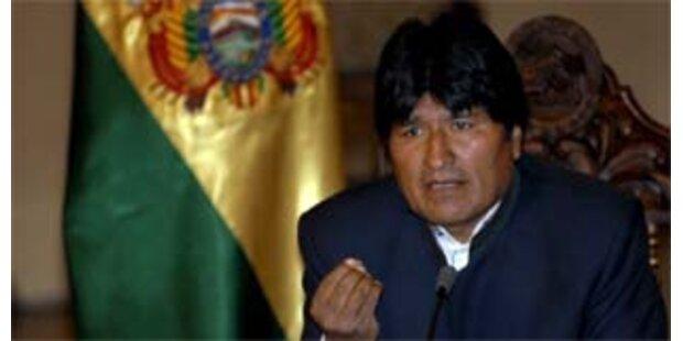Boliviens Präsident will sich Referendum stellen