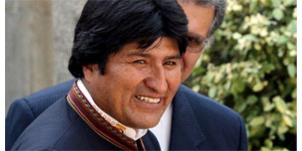 Boliviens Wahlbehörde lehnt Referendum ab