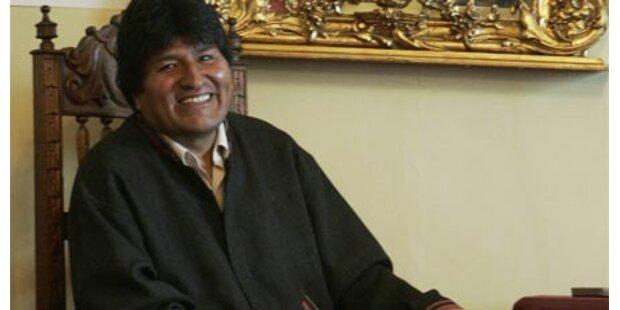 Boliviens Staatsschef im Hungerstreik