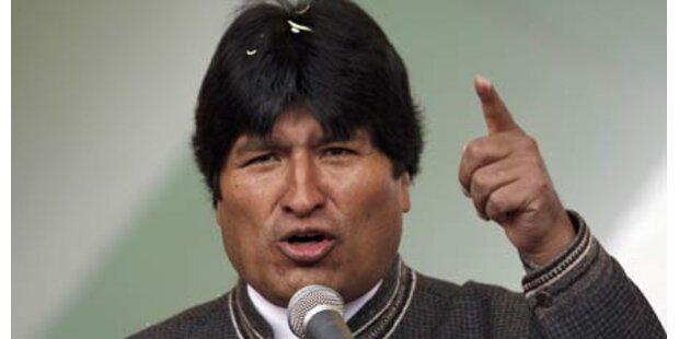 Attentat auf Morales vereitelt?