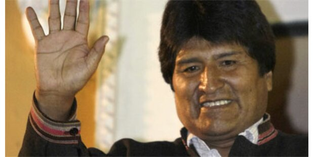 Morales bleibt Boliviens Präsident