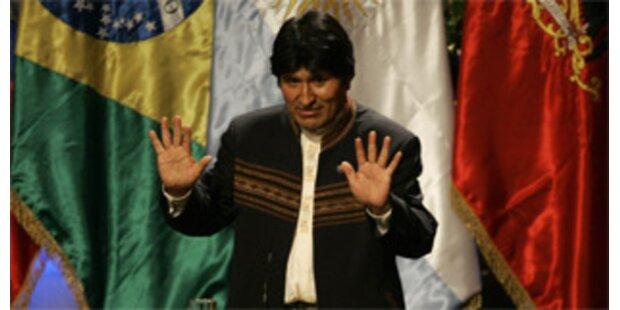 Boliviens Nachbarn stärken Morales