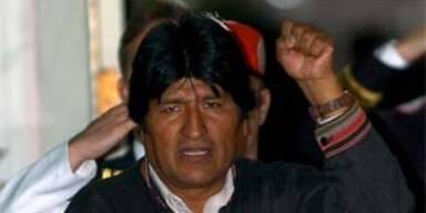 Bolivens Präsident besuchte Fidel