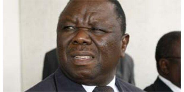 Oppositionsführer Tsvangirai zurück in Simbabwe