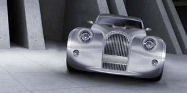 Extravaganter Sportwagen mit Null-Emmission