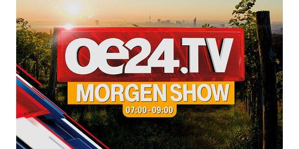 Um 7:00 Uhr startet die neue Morgen-Show von oe24.TV