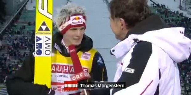 Berg Isel, Siegerinterview mit Thomas Morgenstern