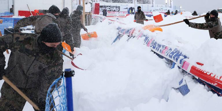Damen-Super-G in St. Moritz wegen Neuschnee abgesagt