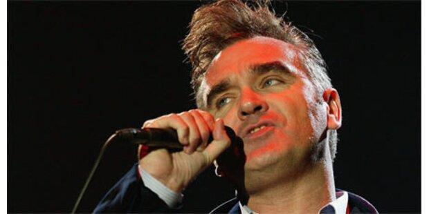 Morrissey brach auf der Bühne zusammen