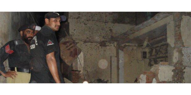 Vier Tote bei Explosion vor Moschee in Pakistan