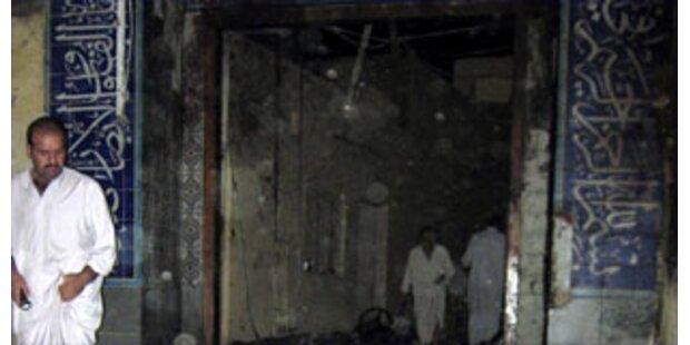 28 Tote bei Anschlag auf  Moschee in Bakuba