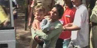 2-Jähriger vor Gewalt der Terroristen gerettet