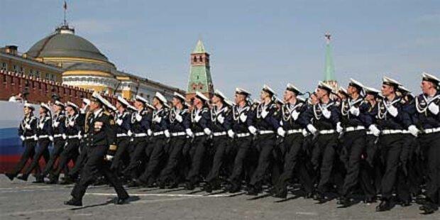 Russland feiert 65 Jahre Kriegsende