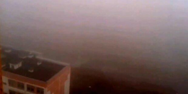 Mysteriöser Nebel verängstigt Moskau