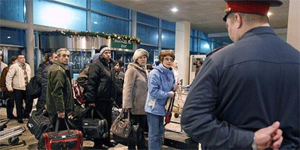 Anschlag in Moskau: Polizei ermittelt gegen Russen
