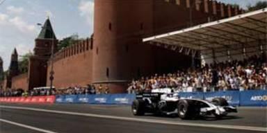 Formel 1: Rosberg raste um den Kreml
