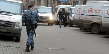 Blutiges Ende bei Geiseldrama in Moskau