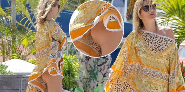 Kate Moss: Po-Blitzer im Urlaub