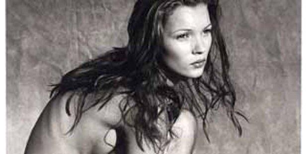 Auch Nacktfotos von Kate Moss unterm Hammer