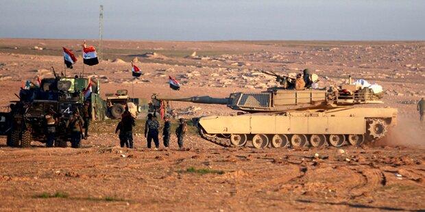 Anti-IS-Offensive auf West-Mosul begonnen