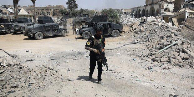 Irakische Armee eroberte ganz Mosul vom IS zurück