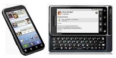 Zwei neue Android-Smartphones von Motorola