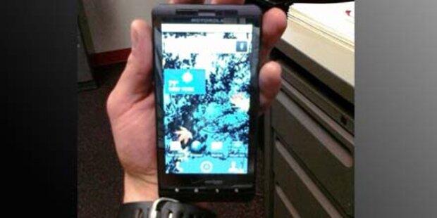 Motorola Milestone-Nachfolger aufgetaucht