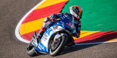 Rins gewinnt MotoGP-Rennen von Aragon