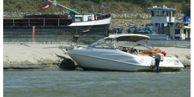 Motorboot-Kapitän löst Großeinsatz aus