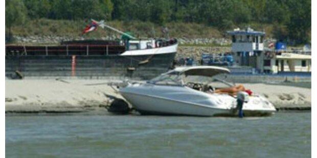 Frau verletzte sich an Schiffsschraube
