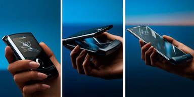 Motorola RAZR - erstes Klapp-Smartphone mit flexiblem Display