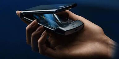 A1 bringt Motorola Falt-Handy nach Österreich