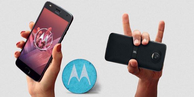 Motorola Moto Z2 Play ab sofort in Österreich