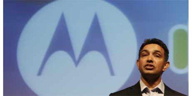 Motorola schafft kleines Gewinnplus