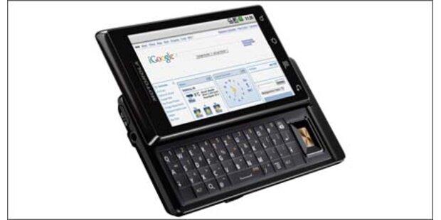 Motorola Droid: Gelungener Verkaufsstart