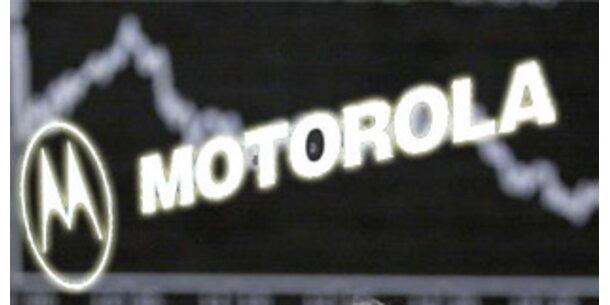 Motorola gerät immer tiefer in die roten Zahlen