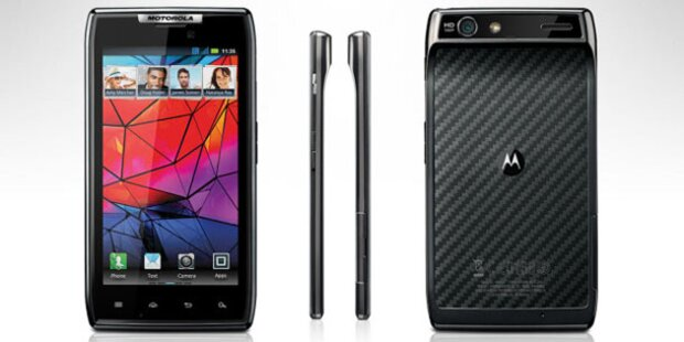 Motorola Droid Razr mit 1,2 GHz und LTE