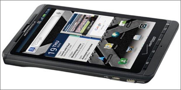 Motorola Droid X2 mit Top-Ausstattung